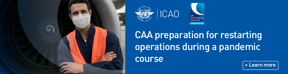 CAA pandemic restarting operations course