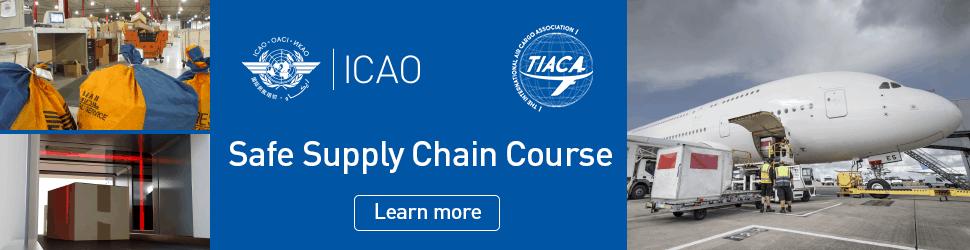 TIACA Safe Supply Chain Course Air Cargo 970×250